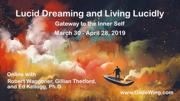 30 Day Online Workshop - Lucid Dreaming and Living Lucidly -- Oct 26, 19
